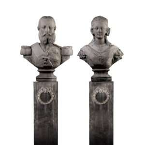 Bustes Royal Albert en Queen Victory 170 cm