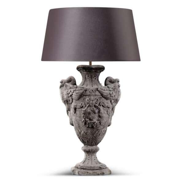 Lampvoet Zwanenhals 39 cm 6.004