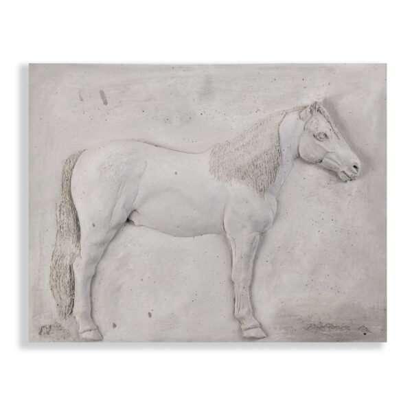 Wandornament Paard 28 cm
