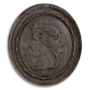 Wandornament Set Jeronimus ovaal 1 57 cm 5.006